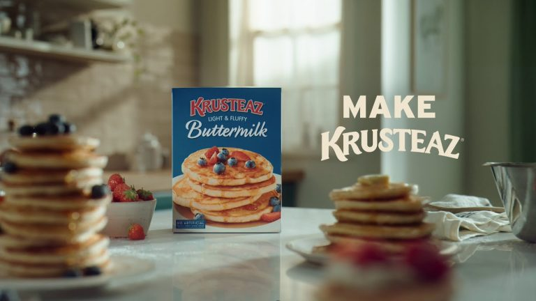 Krusteaz Protein Pancake Mix – Fat-Free, High-Protein, Healthy Snacks